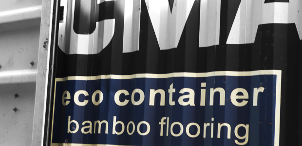 CMA, eco container bamboo flooring